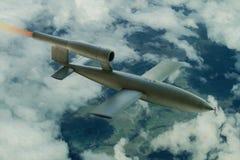 V1 Flying Bomb Stock Photo