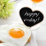 V-jour heureux Images stock