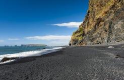 Vík beach Stock Image