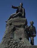 V A Kornilov monument i Sevastopol royaltyfri fotografi