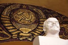 V Lenin rzeźba zdjęcie stock