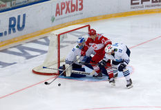 V. Leshchenko (27) attack Stock Photo