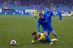 V Lobkarev (77) cai para baixo Imagem de Stock Royalty Free