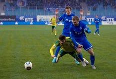 V Lobkarev (77) cai para baixo Imagem de Stock