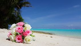 V00663 Maldives beautiful beach background white sandy tropical paradise island with blue sky sea water ocean 4k bouquet. Maldives beautiful beach background Stock Photos