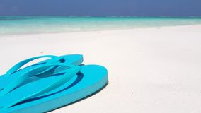 V02971 Maldives beautiful beach background white sandy tropical paradise island with blue sky sea water ocean 4k flip stock video footage