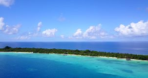 V15315 maldives white sand beach tropical islands with drone aerial flying birds eye view with aqua blue sea water and. Maldives white sand beach tropical stock video
