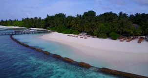 V15216 maldives white sand beach tropical islands with drone aerial flying birds eye view with aqua blue sea water and. Maldives white sand beach tropical stock video