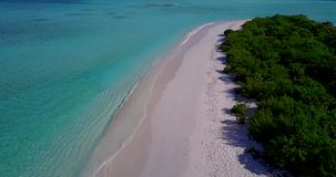 V15376 maldives white sand beach tropical islands with drone aerial flying birds eye view with aqua blue sea water and. Maldives white sand beach tropical stock footage