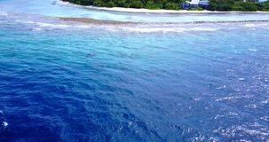V15069 maldives white sand beach tropical islands with drone aerial flying birds eye view with aqua blue sea water and. Maldives white sand beach tropical stock video footage