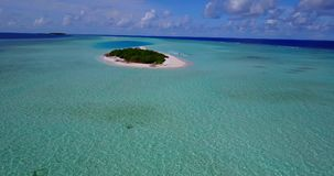 V12553 maldives white sand beach tropical islands with drone aerial flying birds eye view with aqua blue sea water and Royalty Free Stock Image