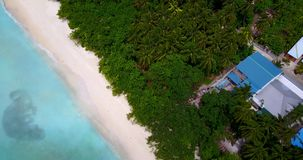 V11711 maldives white sand beach tropical islands with drone aerial flying birds eye view with aqua blue sea water and. Maldives white sand beach tropical Stock Photography