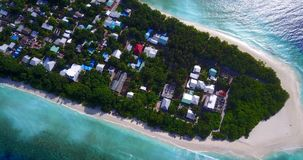 V11541 maldives white sand beach tropical islands with drone aerial flying birds eye view with aqua blue sea water and. Maldives white sand beach tropical Royalty Free Stock Images
