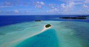 V12419 maldives white sand beach tropical islands with drone aerial flying birds eye view with aqua blue sea water and Royalty Free Stock Images