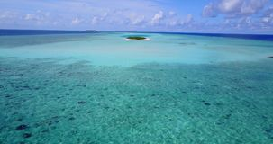 V12467 maldives white sand beach tropical islands with drone aerial flying birds eye view with aqua blue sea water and Royalty Free Stock Photos