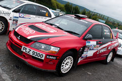 V. Mcaree Mitsubishi Evo Royalty Free Stock Image