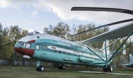 V-12 (Mi-12) - тяжелый вертолет 1967 перехода Стоковые Изображения