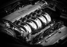 V6 Motor royalty-vrije stock afbeelding