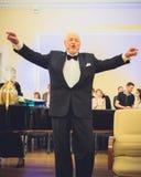V Noreika, cantor da ópera Fotografia de Stock