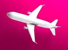 vôo 3d Fotografia de Stock Royalty Free