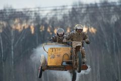 V Orlov et C Ville de Tutaev d'équipe de Serkov (20) Photos libres de droits