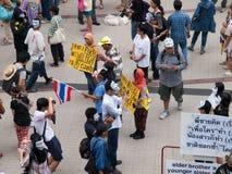 V pour la Thaïlande Images stock