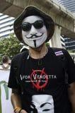 V pour la vendetta Photos libres de droits