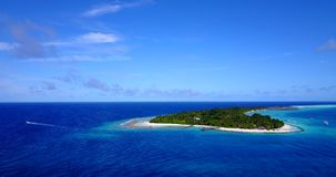 V12918 resort in maldives white sand beach tropical islands with drone aerial flying birds eye view with aqua blue sea. Resort in maldives white sand beach stock video footage