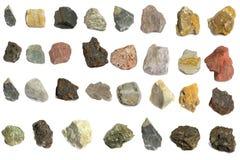 V?ria pedra para a ind?stria fotografia de stock royalty free