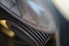 V-Ribbed belt stock image
