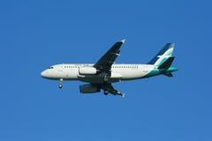 9V-SBA Airbus A319-100 de Silkair Imagens de Stock Royalty Free