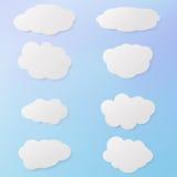 00079_v_Set van clouds_10 Stock Fotografie
