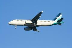 9V-SLE Airbus A320-200 de Silkair Imagens de Stock