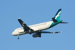 9V-SLE Airbus A320-200 of Silkair Royalty Free Stock Photo