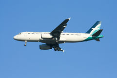 9V-SLE Airbus A320-200 of Silkair Stock Images