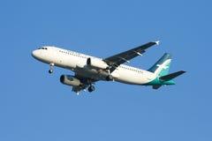 9V-SLE Airbus A320-200 von Silkair Lizenzfreie Stockfotos