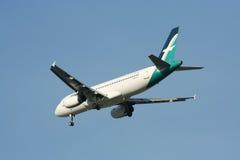9V-SLF Airbus A320-200 de Silkair Imagens de Stock