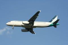 9V-SLF Airbus A320-200 de Silkair Fotos de Stock