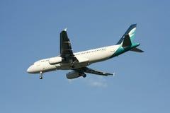 9V-SLF Airbus A320-200 of Silkair Royalty Free Stock Photos