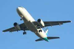 9V-SLG Airbus A320-200 de Silkair Foto de archivo libre de regalías
