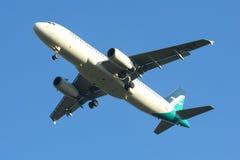 9V-SLG Airbus A320-200 de Silkair Imagenes de archivo