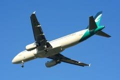 9V-SLG Airbus A320-200 von Silkair Lizenzfreie Stockfotos