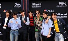 V, SUGA, Jin, Jung Kook, RM, Jimin, j-hope of BTS Royalty Free Stock Image