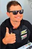 V-8 Supercars冠军司机在奥克兰遇见Motorsport狂热爱好者, 免版税图库摄影