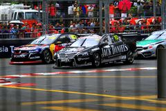 V8 supercars Stock Photography