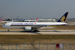 9V-SVC Singapore Airlines Arkivbild