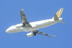 9V-TAC Airbus A320-200 of Tigerair Royalty Free Stock Photos