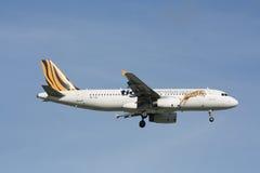 9V-TAC Airbus A320-200 of Tigerair. Stock Images