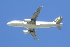 9v-TAC Luchtbus A320-200 van Tigerair Royalty-vrije Stock Fotografie