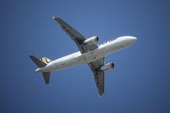 9V-TAF Airbus A320-200 de Tiger Air Foto de Stock
